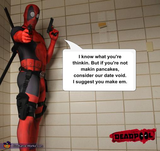 lol, Deadpool Costume