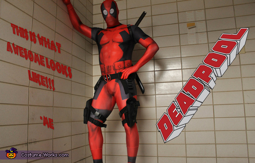 im awesome!!!, Deadpool Costume