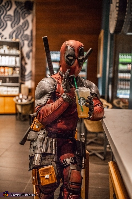 Rise and shine! Be classy and happy❤️, Deadpool Costume