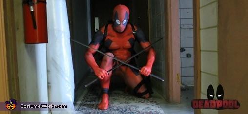 Deadpool Costume for Men