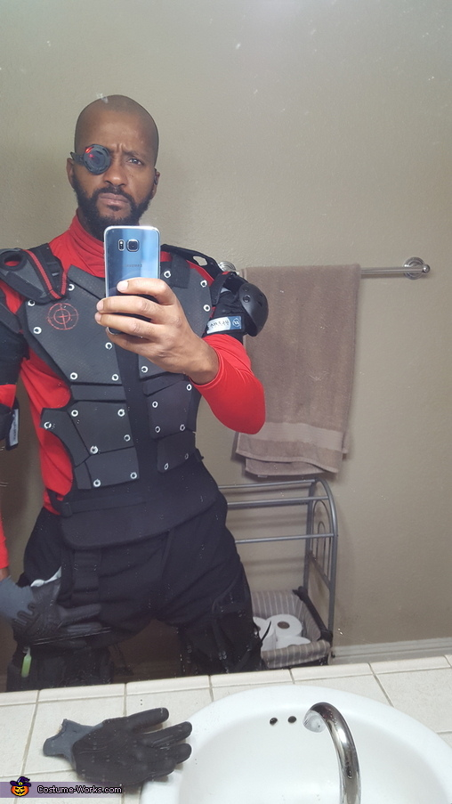 DeadShot Homemade Costume