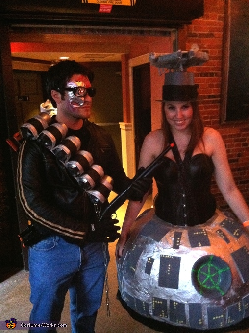 The Terminator vs the Death Star, Death Star Costume