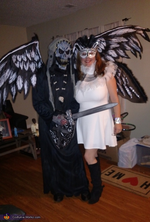 Death and Angel Costume