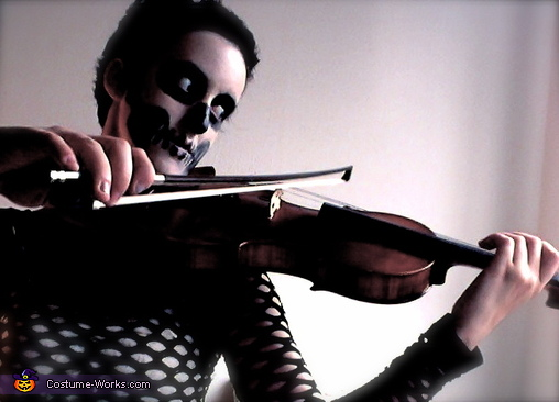 Death and her Violin Costume