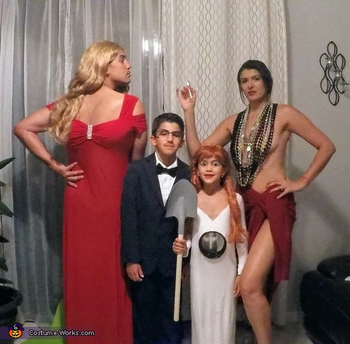 Death Becomes Her Costume