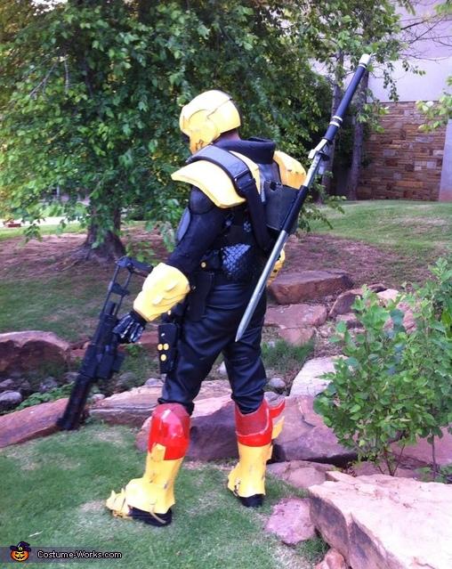 Back cshot, Deathstroke Slade Wilson Costume