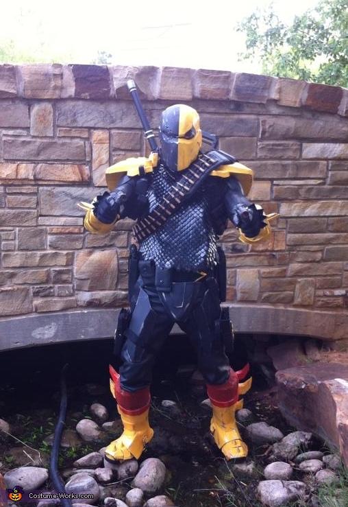 Deathstroke Slade Wilson Costume