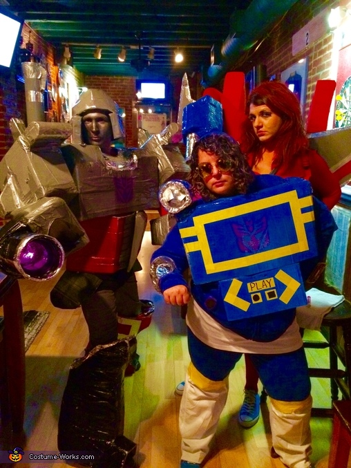 Decepticons Homemade Costume
