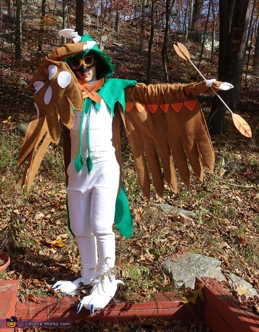 Decidueye Homemade Costume