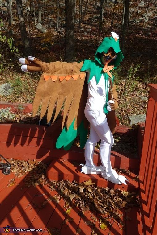 Decidueye Homemade Costume