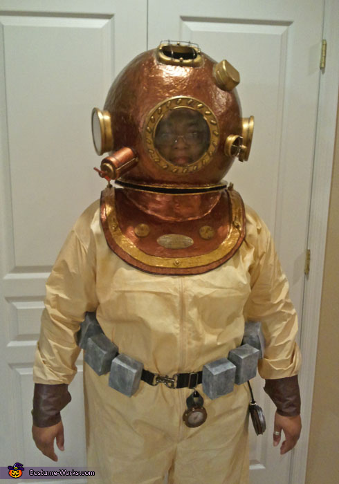 Deep Sea Diver Costume