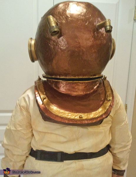 Back shot, Deep Sea Diver Costume
