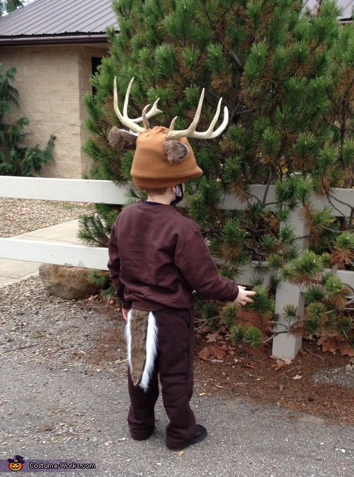 Back, Buck Deer Costume