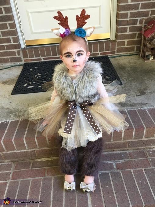 Deer Baby Homemade Costume