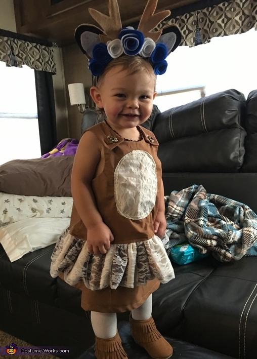 Deer Baby Costume