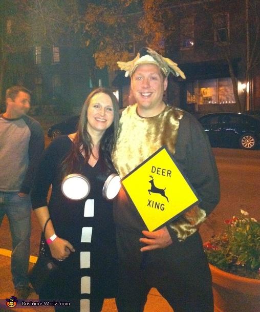 Deer Caught in the Headlights Costume