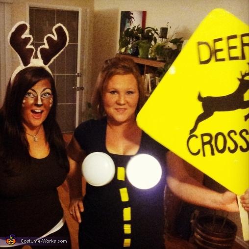 Deer in Headlights Costume
