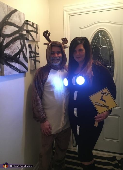 Deer in the Headlights Costume