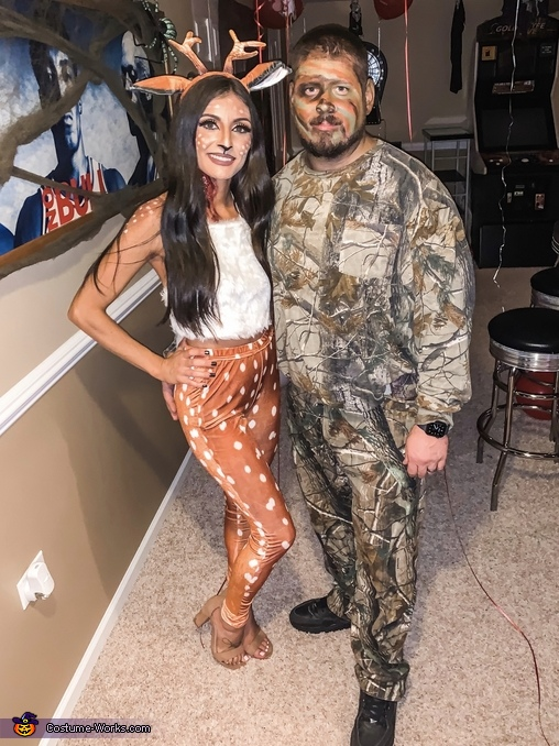 Deer & Hunter Homemade Costume