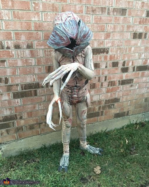 Demogorgon Homemade Costume