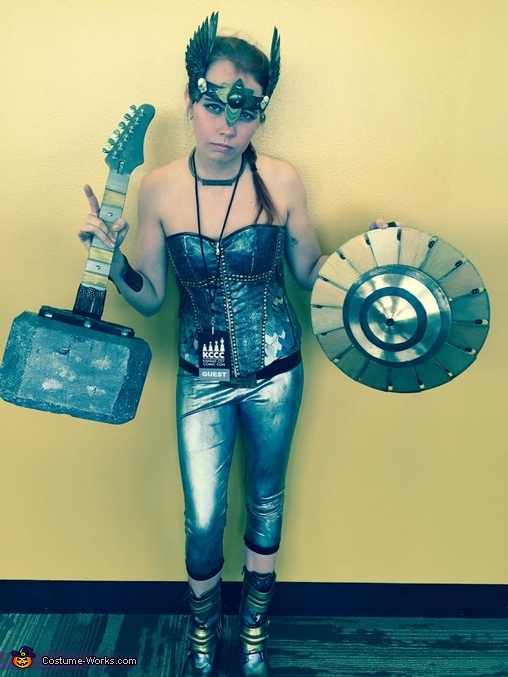 Demolition Rock Goddess Costume