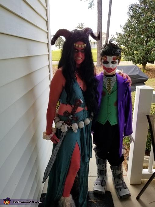 Demon Homemade Costume