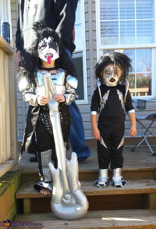 Demon and Spaceman from KISS Costume