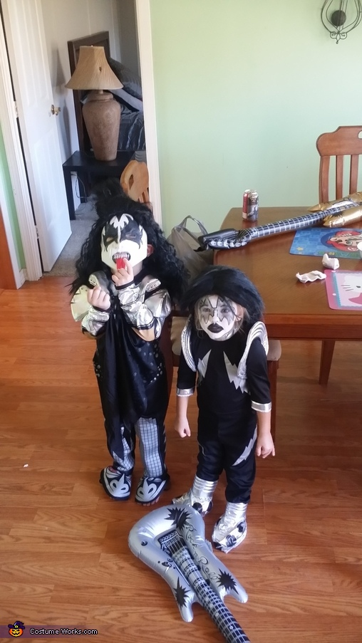 Demon and Spaceman from KISS Costumes