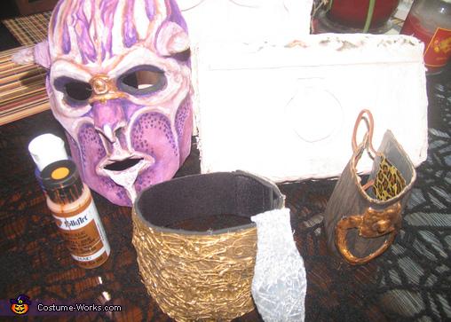 Demon Gaurd Homemade Costume