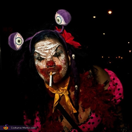 Demonic Clown Costume