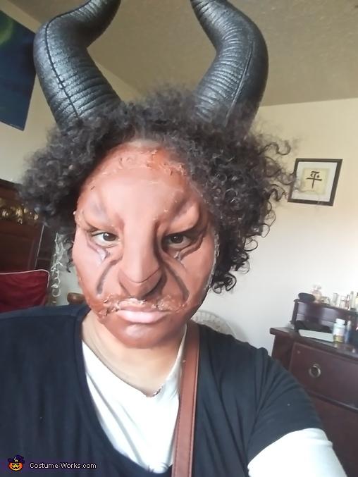 Demonic Satyr Homemade Costume