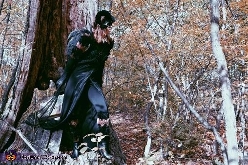 Demonic Sorceress Homemade Costume