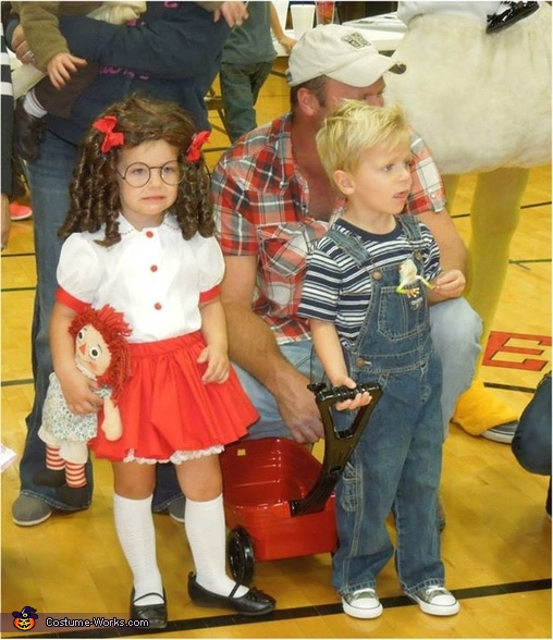 Dennis the Menace and Margaret Costume