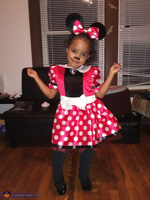 Lil mine mouse, Descendants Evie, Mal and Minie Mouse Costume