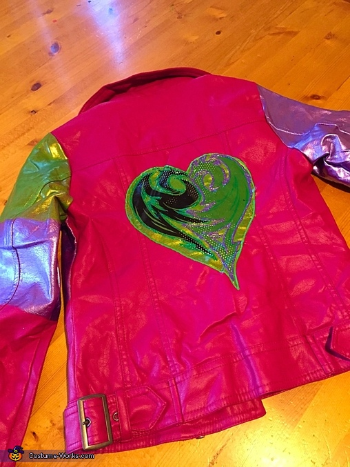 Back of Jacket, Descendants Mal Costume