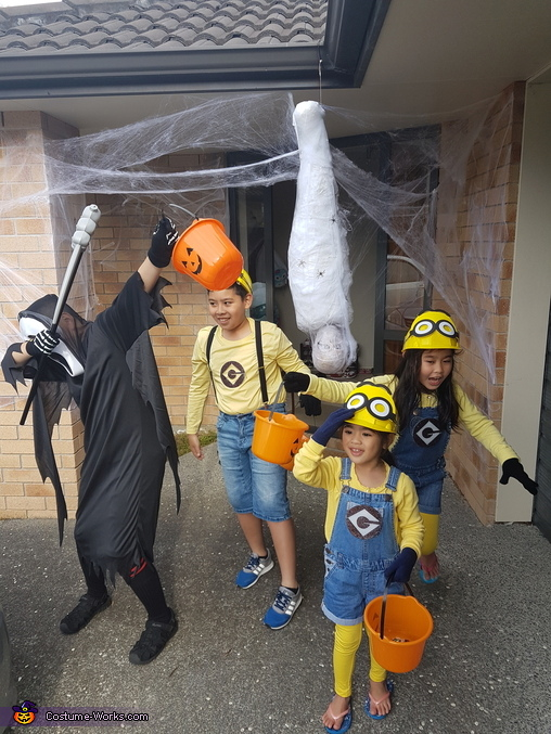 kids, Despicable Family Costume