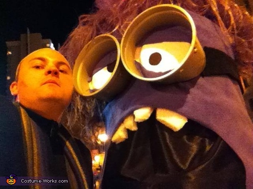 Despicable Me Homemade Costume