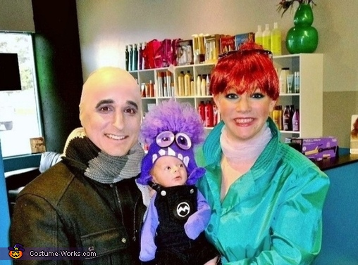 Despicable Me 2 Family Costume