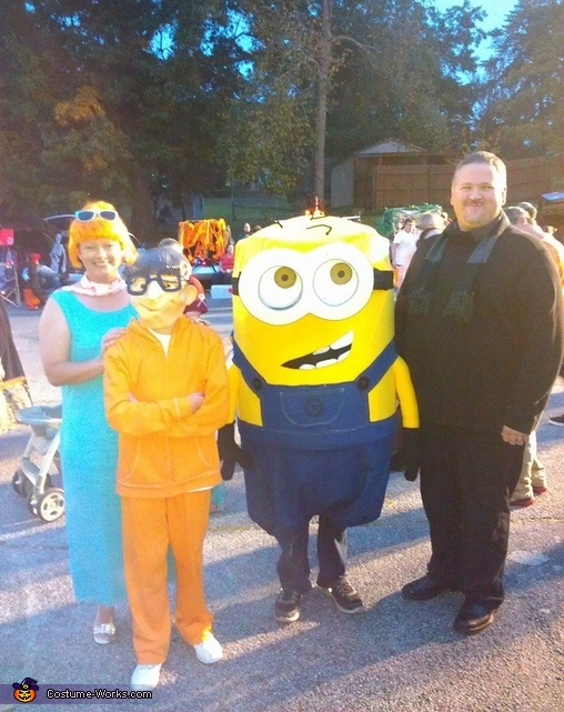 Despicable Me Characters Family Costume