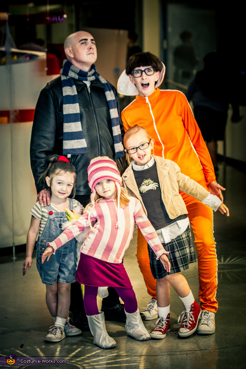 Despicable Me Family - Homemade costumes for families
