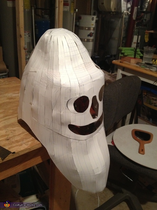 Dr. Nefario Paper Head, Despicable Me Family Costume