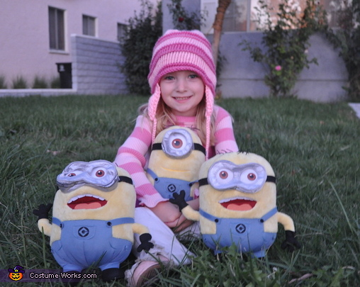 Edith, Despicable Me Family Costume