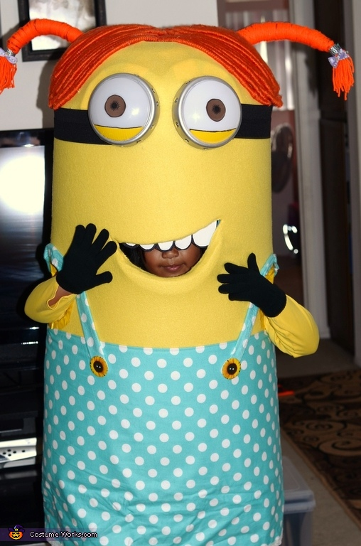 Despicable Me Girl Minion Costume