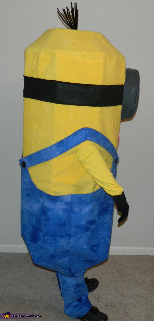 Side view, Despicable Me Minion Kevin Costume