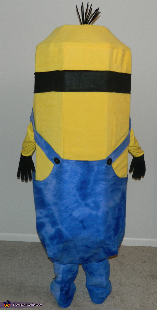 Back of Minion, Despicable Me Minion Kevin Costume