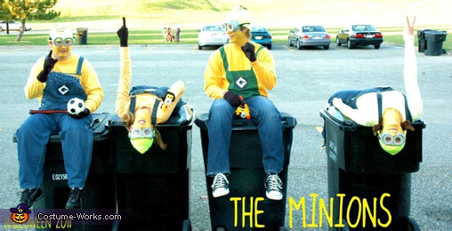 Handstands!, Despicable Me Minions Costume