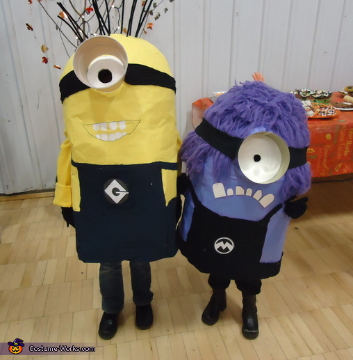Despicable Me: Yellow Minion & Evil Minion Costume