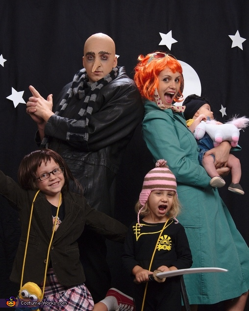 Despicable Us Despicable Me Family Costume