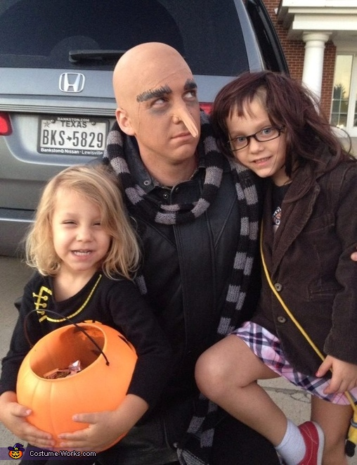 Edith, Gru and Margot, Despicable Us Despicable Me Family Costume