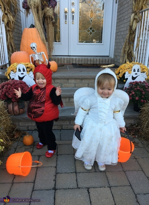Devil and Angel Costume